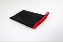 Gant textile grattant